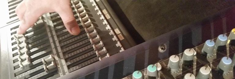 Pronájem mixážního pultu k ozvučení A-TechService
