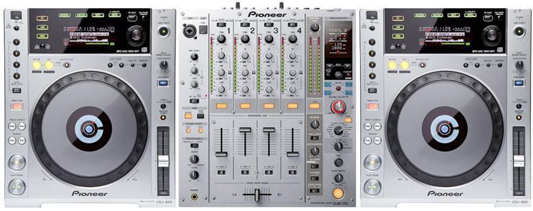 Pronájem Pionner DJ setu A-TechService